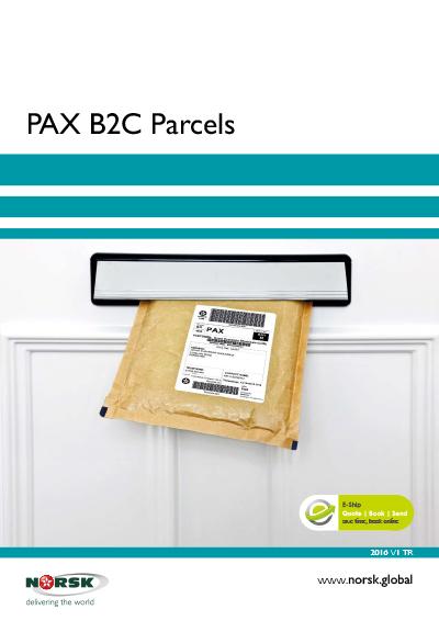 PAX B2C Parcels