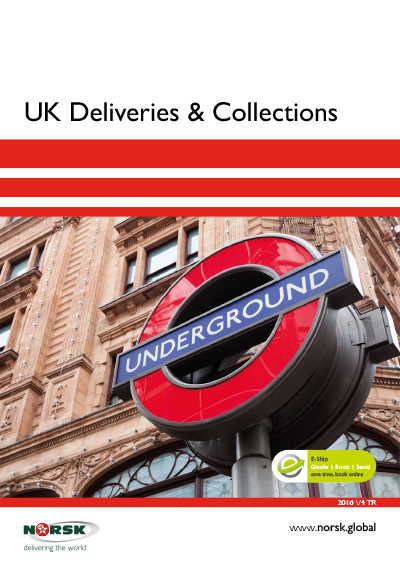 UK Deliveries & Collections